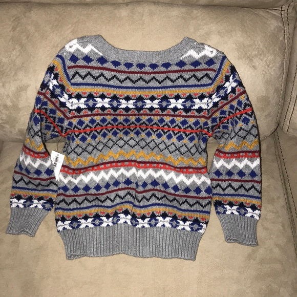52% off Old Navy Other - Old Navy Fair Isle Sweater (Toddler) from ...